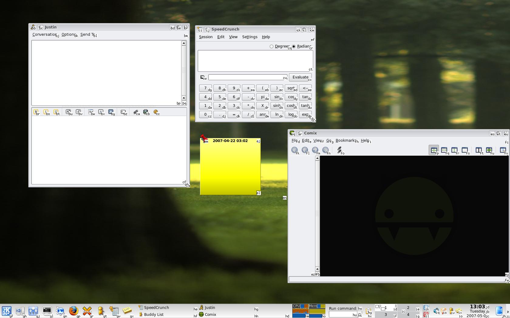 Windows Prototype of UIX in action